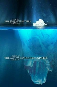 The movies really are the tip of the iceberg....