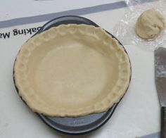 """A good gluten free pie crust recipe.  I made my own """"Authentic Foods"""" flour mix, makes more than what one pie dough needs--  1 cup brown rice flour  1 1/4 cup white rice flour  1/4 cup potato starch flour  2/3 cup tapioca starch flour  3/4 cup sweet rice flour  1/3 cup cornstarch  2 teaspoons xanthan or guar gum"""