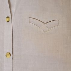 To those who showed an interest in the swoosh welt pocket on my Tao blouse; thank you :) and it was my...