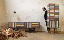 Vintage Vertigo: Wood Furniture from Scrap Doors & More | Designs & Ideas on Dornob