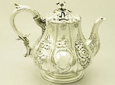 A fine and impressive antique Victorian Irish sterling silver teapot; an addition to our silver teaware collection http://www.acsilver.co.uk/shop/pc/Irish-Sterling-Silver-Teapot-Antique-Victorian-37p4530.htm