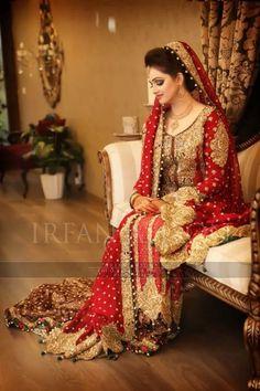 Pakistani Bride- very beautiful indeed!