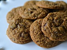 Cinnamon Espresso Chocolate Chunk Cookies | SouthernKissed.com