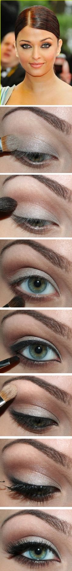 Aishwarya Rai eye makeup #makeup #beauty #cosmetics