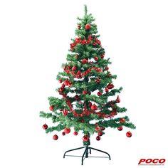 O Tannenbaum, o Tannenbaum, wie grün sind deine Blätter. Aus Kunststoff mit Metallständer, ca. 180 cm hoch, Verkauf ohne Dekoration #weihnachten
