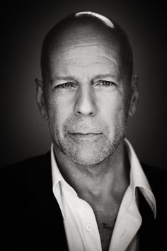 Bruce willis- as old as he is, he's still pretty hot. :)