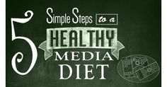 5 Simple Steps to a Healthy Media Diet - Common Sense Media - 5 Simple Steps to a Healthy Media Diet Simple Steps to a Healthy Media Diet - Managing your kid's device use can be challenging. Learn five simple steps to a healthy media diet. Snacks For Work, Healthy Work Snacks, Common Sense Media, Detox Challenge, Digital Detox, Healthy Food Delivery, Smoothie Diet, Health Facts, Diet Plans To Lose Weight