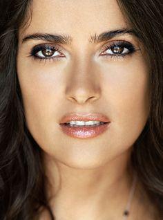 Salma Hayek make-up