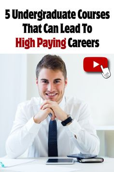 5 Undergraduate Courses That Can Lead To High Paying Careers #undergraduatecourses #careeroptionsafter12th #careeroptions #careerplanner #careersinindia #jobsinindia Career Planner, High Paying Careers, Career Options, Great Life, Self Development, Law Of Attraction, Counseling, Tarot, Spirituality