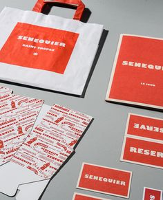 #Graphic design, #Identity & #Packaging for #Senequier by Emma Roux #StudioEmmaRoux © Anthony Cottarel