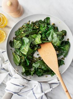 Learn how to cook beet greens like a pro! This simple sautéed beet greens recipe is a delicious, nutritious side dish. Made with a handful of pantry ingredients, it comes together in under 10 minutes. | Love and Lemons #sidedish #beetgreens #beets #healthyrecipes