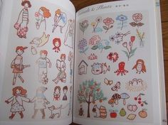 Pined by nidnirandMy First Embroidery Lesson Japanese Craft Book by pomadour24