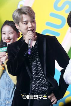Jimin as special MC on Music Core ❤ #BTS #방탄소년단