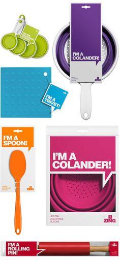 Zing! Packaging by Stuart McQuarrie. 16 Creative Packaging Examples. #packaging