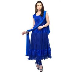Luxurious Net Semi-stitched Party wear Suit at just Rs.450/- on www.vendorvilla.com. Cash on Delivery, Easy Returns, Lowest Price.
