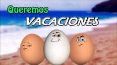 Queremos vacaciones - Con 3 Huevos (Oficial)