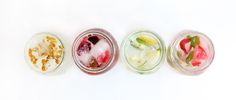 Summer Drink Recipes: Flavored Ice Cubes | Free People Blog