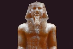 Khafra was the builder of the second largest pyramid of Giza. There is a certain resemblance of the facial structure seen in his statues and in face of Sphinx. Egyptian Temple, Egyptian Kings, Egyptian Pharaohs, Egyptian Art, Monuments, Memphis, Statues, King Pharaoh, Visit Egypt