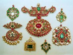 WORKMANSHIP: Some traditional pieces of south jewellery.
