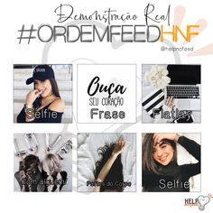 FEED ORGANIZADO - ORDEM FEED - DICA FEED Organizar Instagram, Instagram Feed Ideas Posts, Insta Ideas, Selfie, Apps, Photo And Video, Videos, Style, Instagram Tips