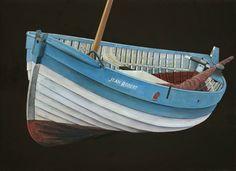 Norfolk Crabber, Back to Sail by James Dodds 2011 (oil on linen)