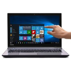 Toshiba Satellite S55T-C5324-4K Touchscreen Core i7-4720HQ Quad-Core 2.6GHz 12GB 1TB. Toshiba Satellite S55T-C5324-4K Touchscreen 15.6 4K UHD Notebook  Grade B (see below for description) General Features:  Brushed Metal Finish  Microsoft Windows 10 Home 64-bit pre-installed   4th Gen Intel Core i7-4720HQ 2.6GHz quad-core processor  3.6GHz Max Turbo Frequency, 6MB Smart Cache, 5 GT/s DMI2  12GB DDR3L RAM  1 Terabyte SATA hard drive  DVD±RW drive  Intel HD Graphics 4600  DTS Sound audio…