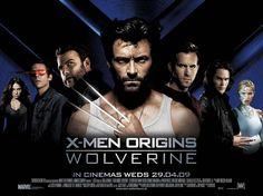 X-Men Origins: Wolverine, poster.