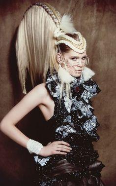 Hair: Agnes Westerman Salon: Twins Hair & Beauty, Dalen Coiffure Award 2011 - Avant Garde