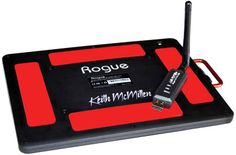 Keith McMillen Instruments have announced The Rogue, a slim line Wi-Fi adapter for their ever popular QuNeo MIDI controller. With a 60 meter range and 6-8 hours battery life.