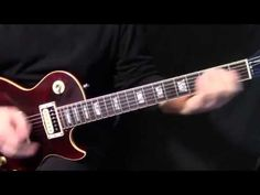 """how to play """"Funk #49"""" on guitar by The James Gang Joe Walsh - rythym guitar lesson - YouTube"""