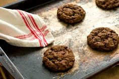 Spicy Texan Chocolate Pecan Cookies - (my Switch Witch sent me a batch and the link to the recipe - so yummy!)