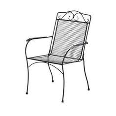 Nantucket Metal Outdoor Dining Chair