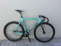 Bianchi Super Pista - Pedal Room