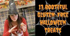 13 #GlutenFree #Halloween treats recipes. No eye of newt, toe of frog, wool of bat or tongue of dog involved!