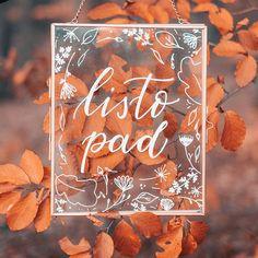 Po malé pauzičce jsem zpět. Už jako vdaná paní.  Mám pro vás připravených pár nápadů z mé vlastní svatby. Ale než se k nim dostanu musím si užít tento barevný měsíc. Ty podzimní barvy jsou pro mne . Je tu ještě další #autumnlover ? . . . #pismenazatisiceslov #krasopsani #krasopismo #modernikaligrafie #listopad #podzim #cedule #molotow #handlettering #handmadefont #createtoday #autumn #november #autumnsign Instagram, Art, Craft Art, Kunst, Gcse Art, Art Education Resources