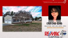 http://ift.tt/1SlrIiB 3 Bed 2 Bath Ranch Style Home in Elmwood Subdivision - Call Tia (757) 243-3245. One-story living in this fabulous low maintenance ranch home for sale in Williamsburg VA. If you are wanting space  but to remain in James City County or the 23188 zip code  this is your home. This Elmwood home has been professionally painted interior/exterior  professionally cleaned  and power-washed. Property features a large eat-in kitchen with built-in desk  fireplace in den  sun-room…