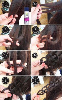 The 'Cobra Stitch' Braided Crown Braids Up Hairstyles, Pretty Hairstyles, Braided Hairstyles, Wedding Hairstyles, Tips Belleza, Hair Dos, Gorgeous Hair, Beautiful, Hair Designs