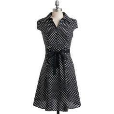 ModCloth Vintage Inspirado Mid-Cap comprimento mangas de camisa vestido Hepcat Soda Fountain Vestido