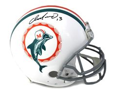 9d0db5dd61f Dan Marino Signed Miami Dolphins Riddell Throwback Authentic NFL Helmet