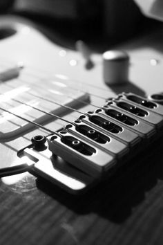 A series of images that I took of my own guitar. #guitar #music #photography #blackandwhite