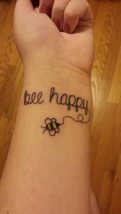 cute bumble bee tattoo - Google Search