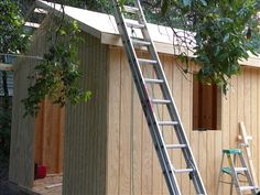 A basic storage shed, something anyone can learn to build.