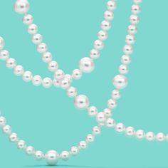 Ziegfeld Collection pearl necklace. #TiffanyPinterest