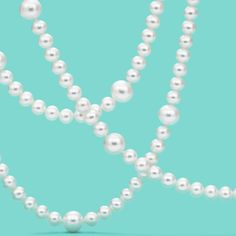 Ziegfeld Collection pearl necklace. #TiffanyPinterest