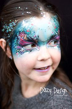 Under the Sea Mermaid Face Painting