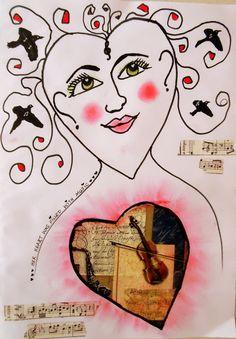 Bastelmania: Head, heart and hair