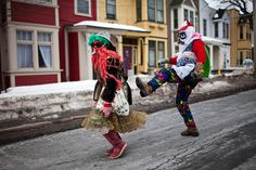 Mummering in Newfoundland Mummers Parade, All About Canada, Wilderness Trail, Canadian Culture, Atlantic Canada, Newfoundland And Labrador, Prince Edward Island, New Brunswick, St John's