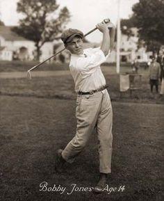 Vintage Golf  Bobby Jones