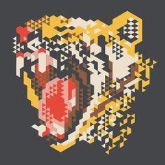 modern geometric design graphic