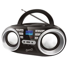 Portable Audio System-Black MP3/CDPlayer #SC-506-BK